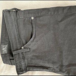 AG The Stilt black denim size 28R skinny jean